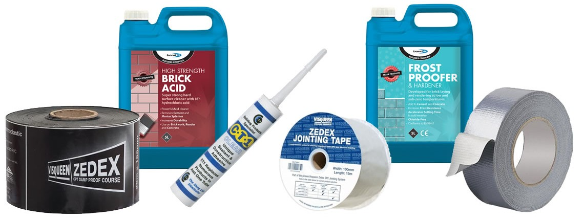 Tapes, Protection Materials, everything you could need....