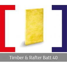 Timber & Rafter Batt 40 (SG/T&R40BATT) - GH Supplies, No.1 in Kent, London and the South East