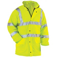 Hi-Vis Waterproof Jacket (Hi-Vis Waterproof Jacket) - GH Supplies, No.1 in Kent, London and the South East