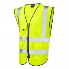 Superior Hi-Vis Pocketed Waistcoat (HIVIS-SUPER) - GH Supplies, No.1 in Kent, London and the South East