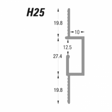 Type H -  Hanging Reveal Bead (H25) - GH Supplies, No.1 in Kent, London and the South East