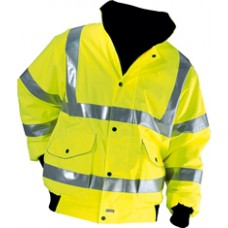 Hi-Vis Bomber Jacket (Hi-Vis Bomber Jacket) - GH Supplies, No.1 in Kent, London and the South East