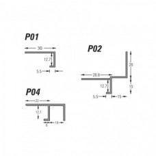 Type P - Plasterboard Edge Bead (P) - GH Supplies, No.1 in Kent, London and the South East